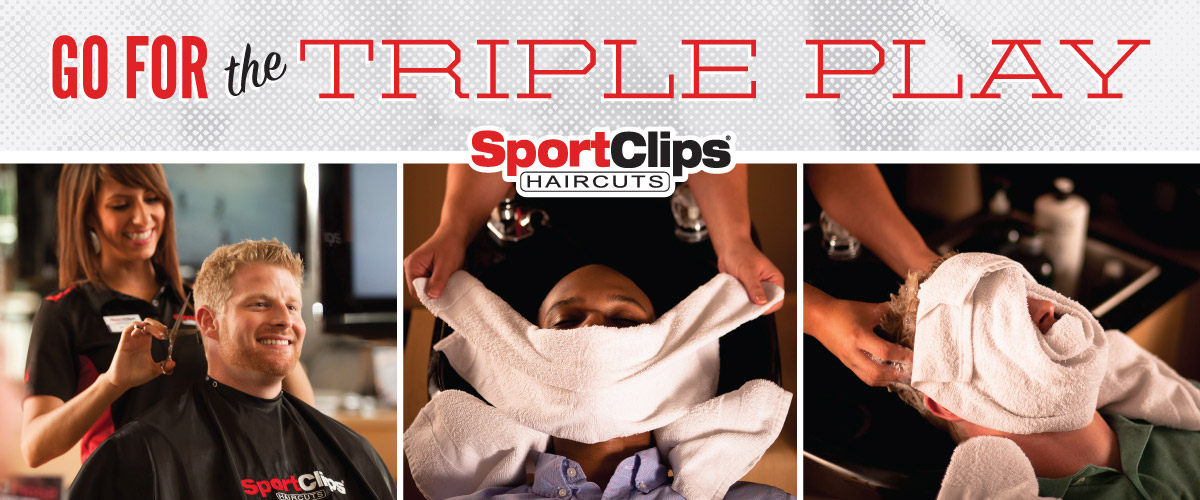 The Sport Clips Haircuts of VA Center Station Triple Play